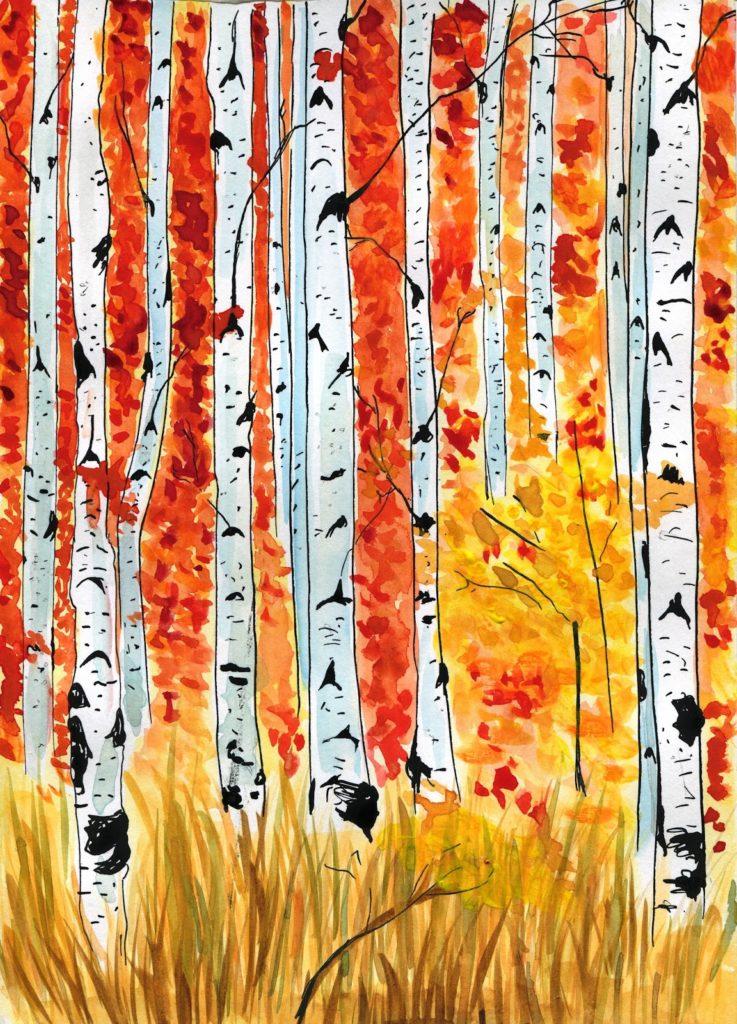jesienny-krajobraz-ilustracja