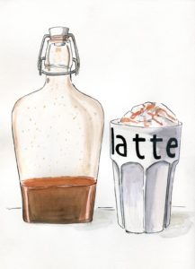 dyniowy syrop do kawy