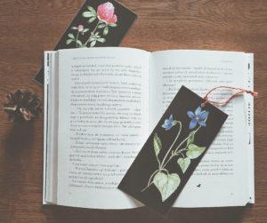 wiosenne zakładki do książek